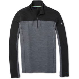 Smartwool Merino Sport 250 1/4 Zip LS Top Men black